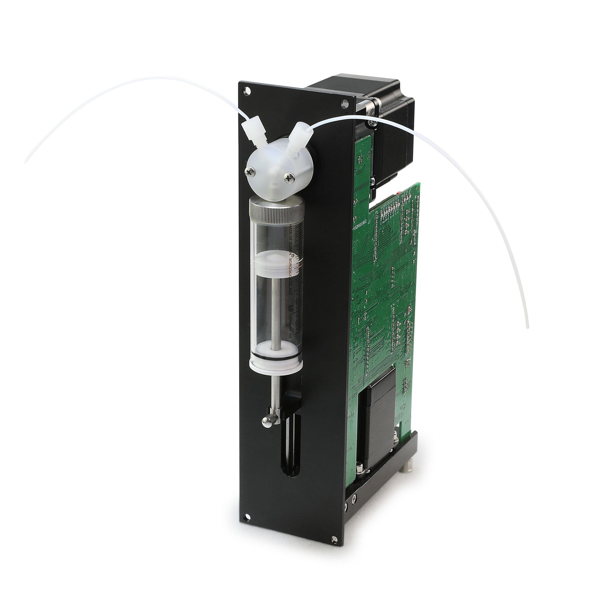 微量注射泵用于液体处理平台